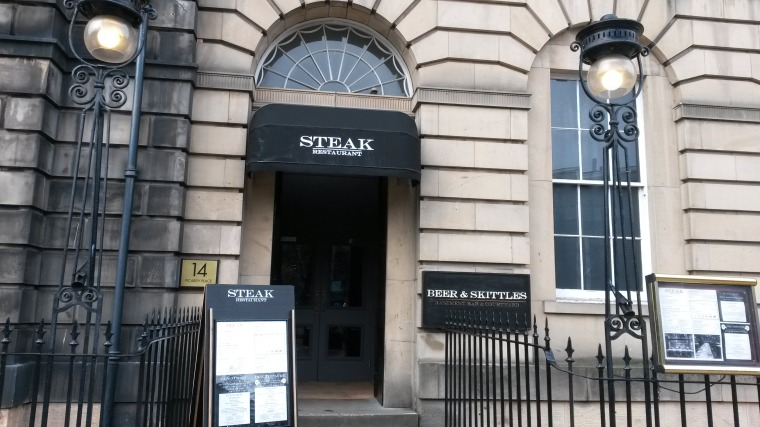 Steak Edinburgh at No.12 Picardy Place