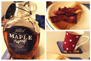 Pancakes, Bacon & Maple Syrup