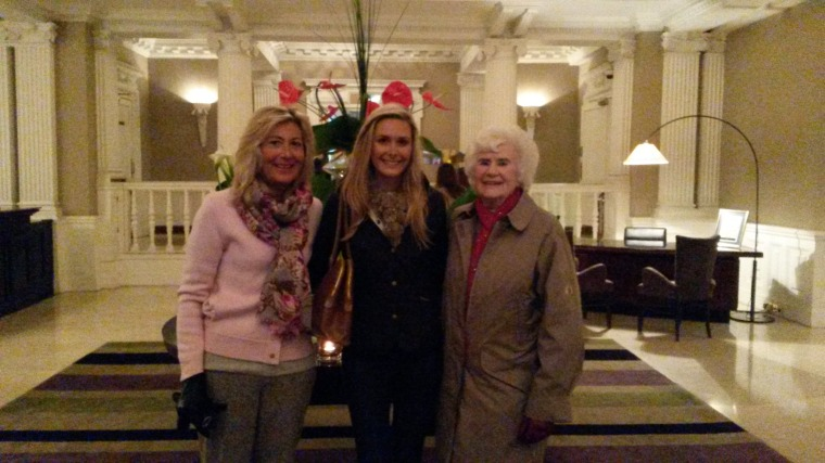 Ladies who lunch! The Balmoral Hotel, Edinburgh