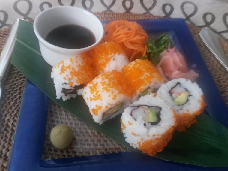 Sushi - the perfect spa snack!