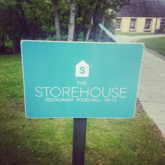 Storehouse sign