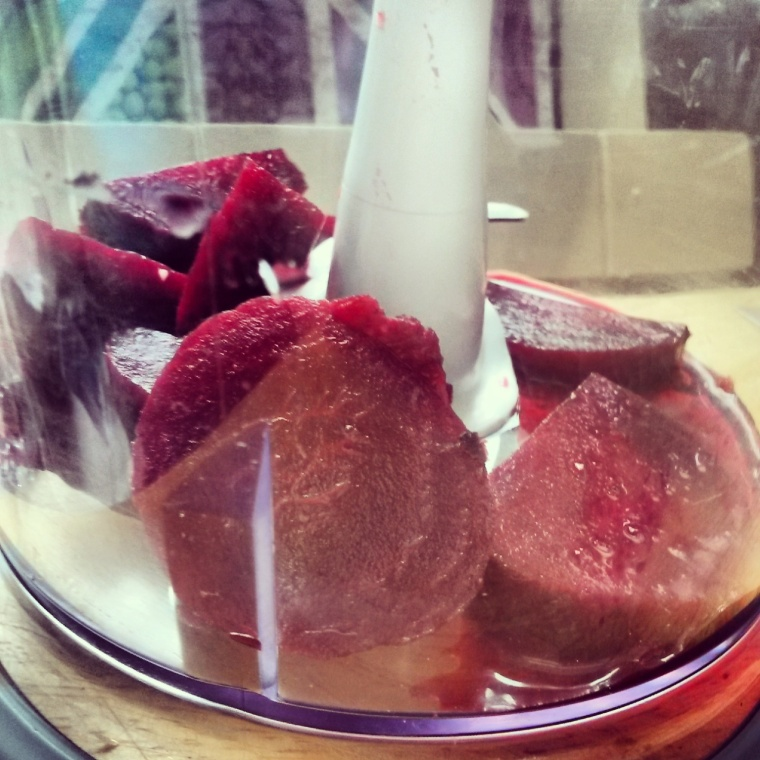 beetroot in blender