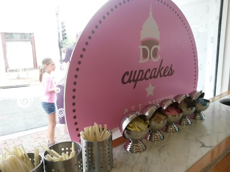 cupcake shop window