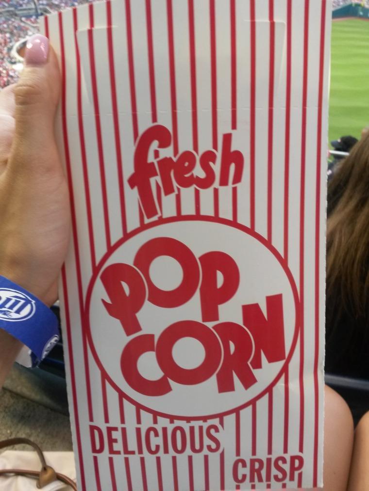 Popcorn bag