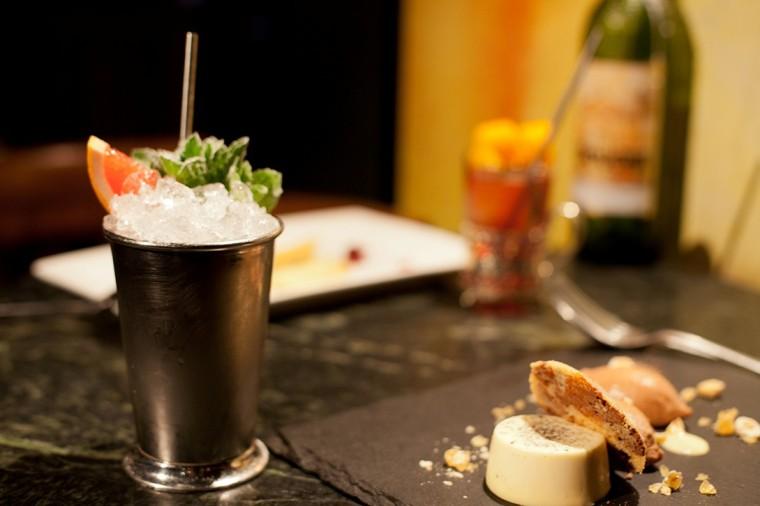 The Bon Vivant, Thistle Street, Edinburgh, cocktails and food 1 (2)