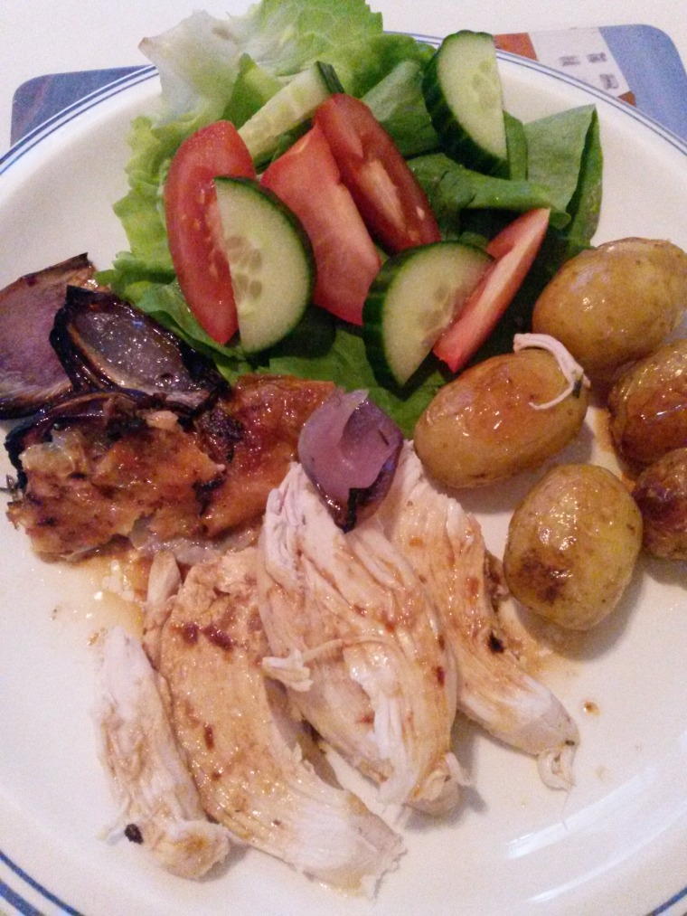 roast chicken plate 2