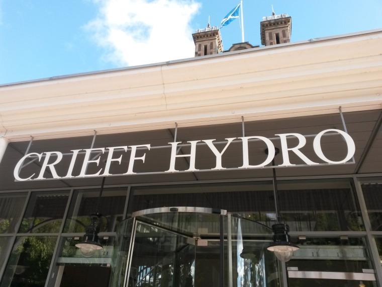 Crieff Hydro sign