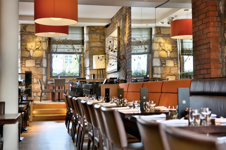 The Adamson restaurant