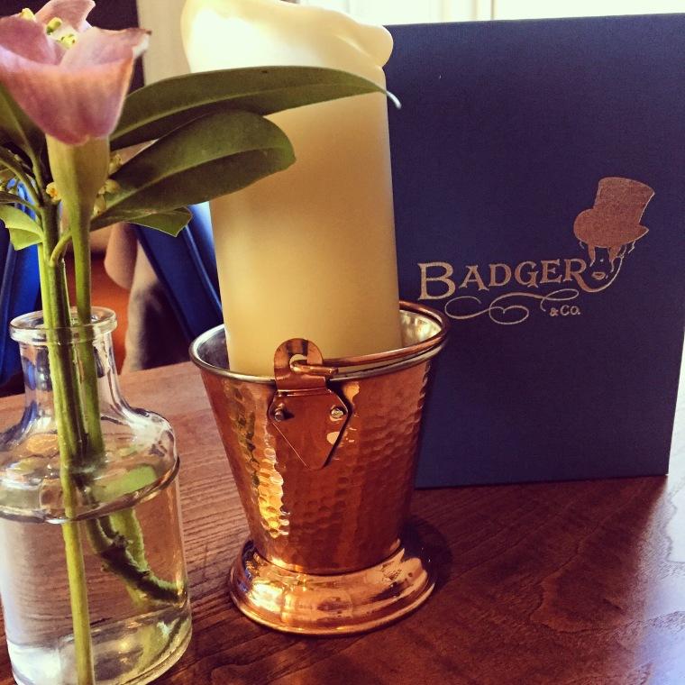 Badger & co cocktail menu