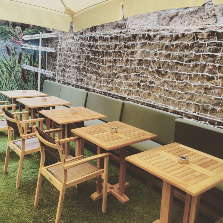 badger & co outdoor area