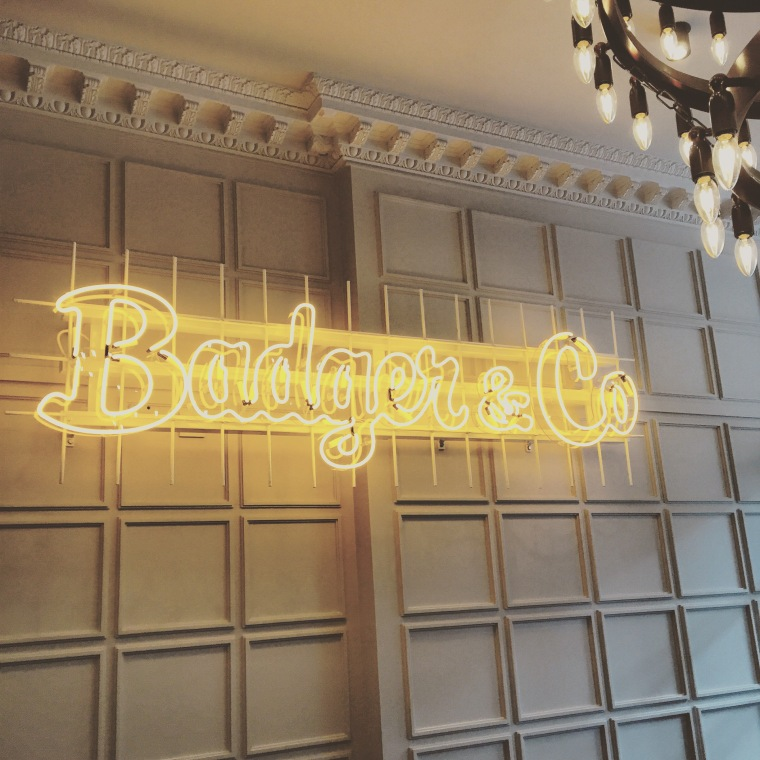 Badger & co sign