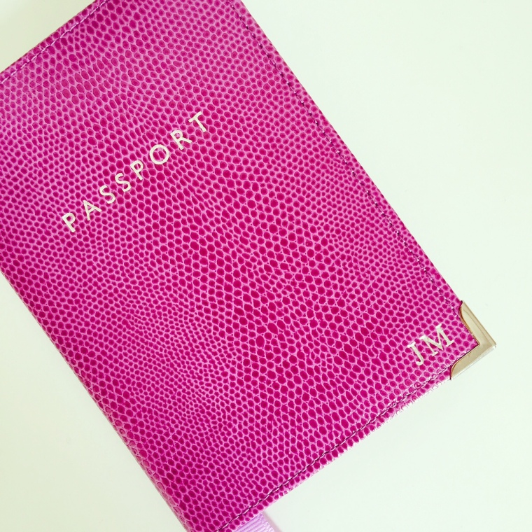 Aspinal Passport Cover