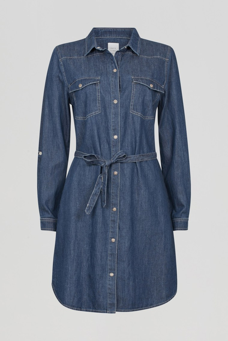 DLT denim dress